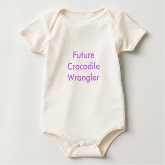 Future Crocodile Wrangler Baby Bodysuit