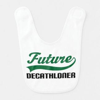 Future Decathloner Baby Bib