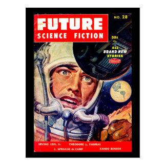 Future December 1955_Pulp Art Postcard