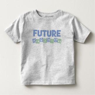 Future Democrat Blocks Tee Shirt