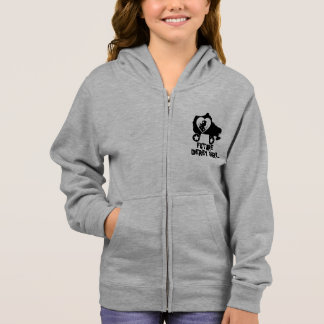 Future Derby Girl, Roller Skating design for Kids Hoodie