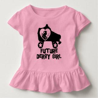 Future Derby Girl, Roller Skating design for Kids Toddler T-shirt