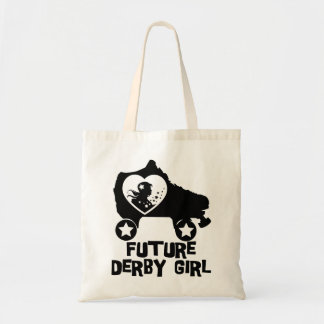 Future Derby Girl, Roller Skating design for Kids Tote Bag