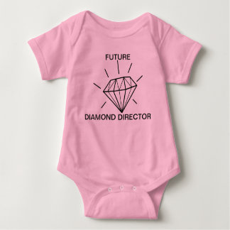 FUTURE DIAMOND DIRECTOR BABY BODYSUIT