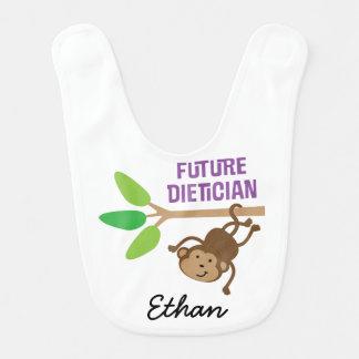 Future Dietician Personalized Baby Bib