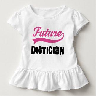 Future Dietician Ruffle T-shirt