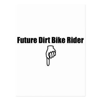 Future Dirt Bike Rider Postcard