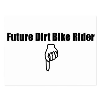 Future Dirt Bike Rider Post Card