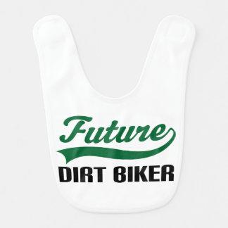 Future Dirt Biker Baby Bib