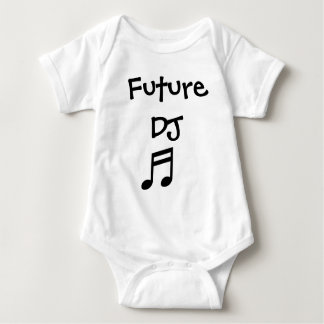 Future DJ Baby Bodysuit