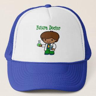 Future Doctor Dark Skin Trucker Hat