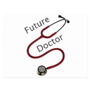 Future Doctor Dr Postcard
