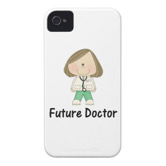 future doctor (girl) Case-Mate iPhone 4 cases