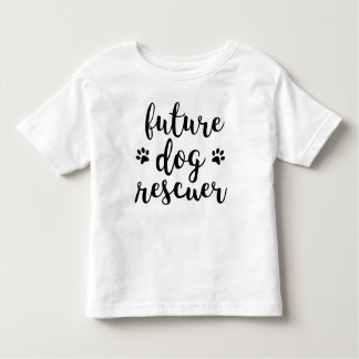 Future Dog Rescuer Toddler Tee