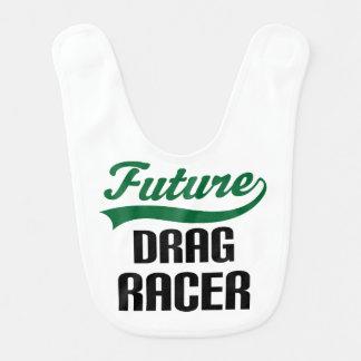 Future Drag Racer Baby Bib