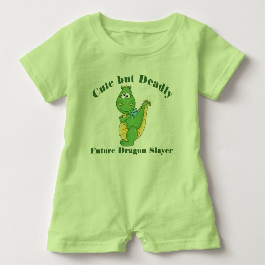 Future Dragon Slayer Baby Romper