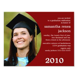 Future Dreamer Graduation Invitation (Burgundy)