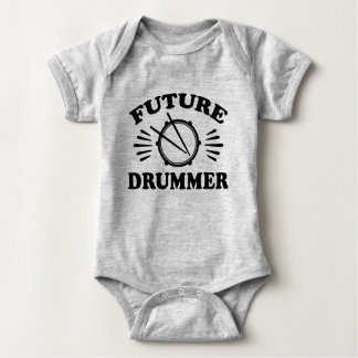 Future Drummer Baby Bodysuit