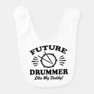 Future Drummer Like My Daddy Bib