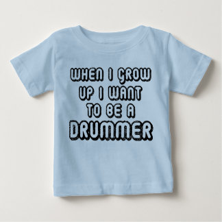 Future Drummer Music Baby T-shirt