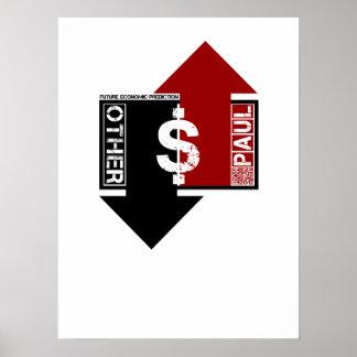 Future Economic Prediction - Ron Paul Rev. Poster