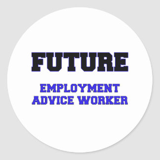 Future Employment Advice Worker Stickers