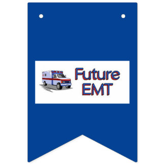 Future EMT Bunting Flags