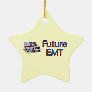 Future EMT Ceramic Star Ornament