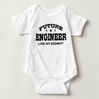 Future Engineer Like My Mommy Baby Bodysuit