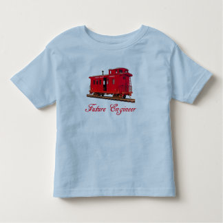 FUTURE ENGINEER-T-SHIRT --RED CABOOSE TODDLER T-SHIRT