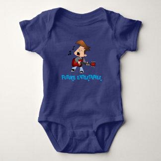 Future Entertainer Music Baby Bodysuit