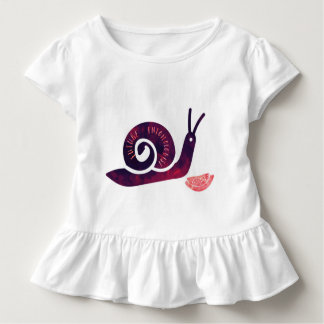 Future Entomologist Snail Toddler Girls Shirt
