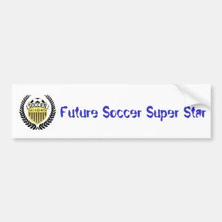 Future étoile du football adhésif pour voiture