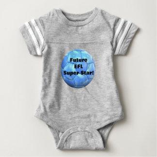 Future European Football League Super Star Baby Bodysuit