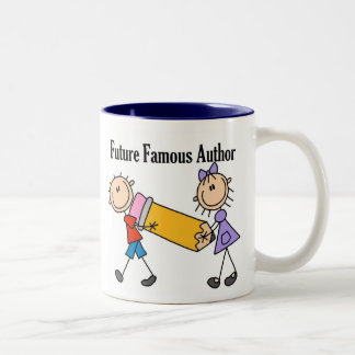 Future Famous Author Two-Tone Coffee Mug