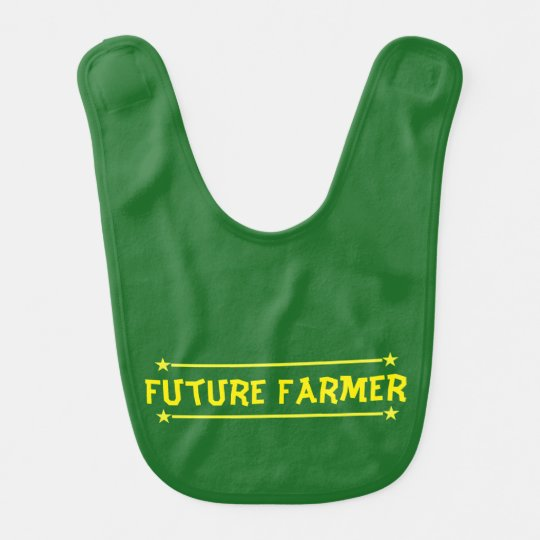 Future Farmer Baby Bib