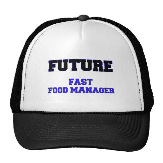 Future Fast Food Manager Hats