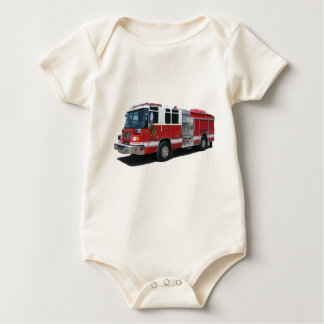 Future Firefighter infant wear Baby Bodysuit