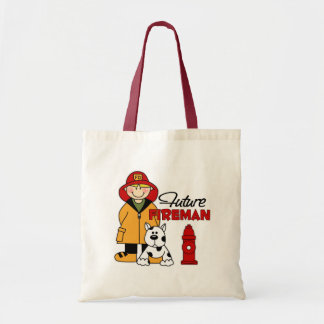 Future Fireman Firefighter Children's Gifts Tote Bag