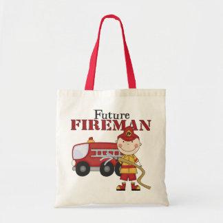 Future Fireman Tote Bag