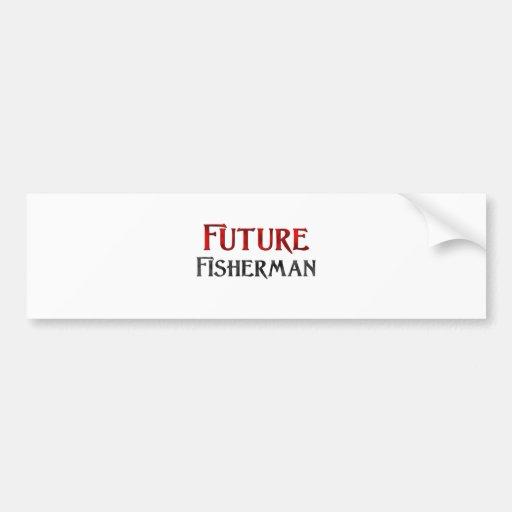 Future Fisherman Bumper Sticker