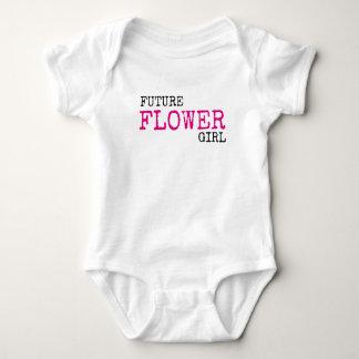 Future Flower Girl Wedding Baby Bodysuit