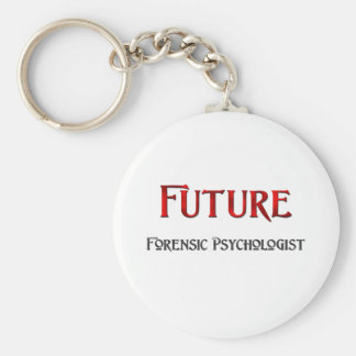 Future Forensic Psychologist Keychain