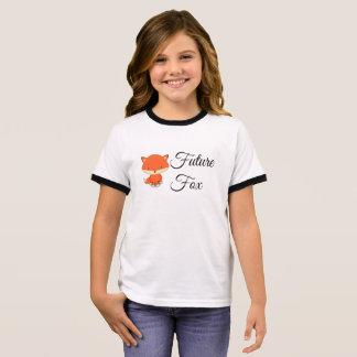 Future Fox - Girl's Ringer T-Shirt