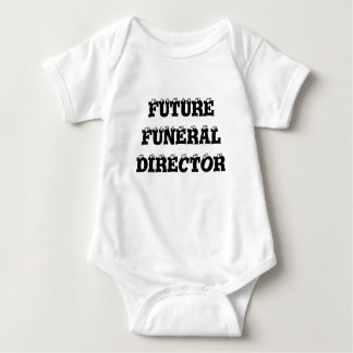 FUTURE FUNERAL DIRECTOR BABY BODYSUIT