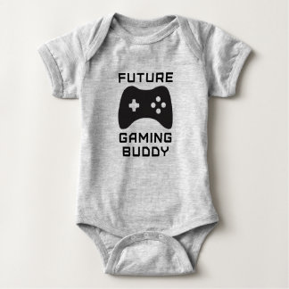 Future Gaming Buddy Baby Bodysuit