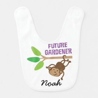 Future Gardener Personalized Baby Bib