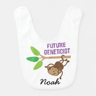 Future Geneticist Personalized Baby Bib