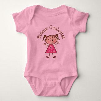 Future Geologist (Cute) Baby Bodysuit