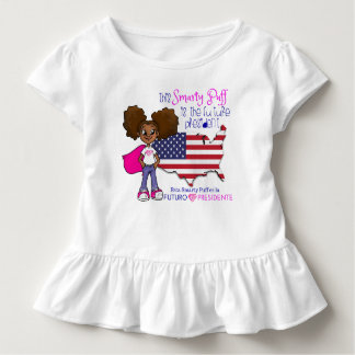 Future Girl President Toddler Ruffle T-Shirt